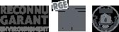 Logos de nos certifications